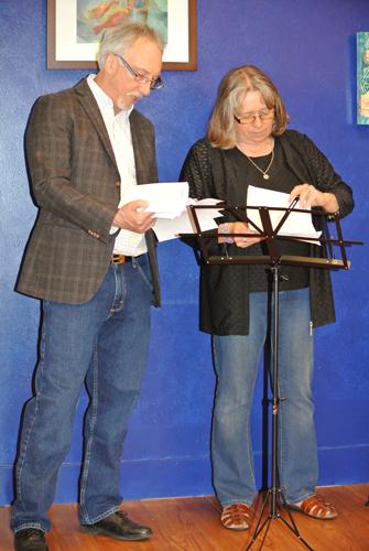 David & Deb prepare